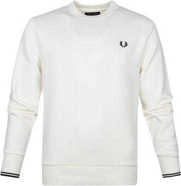 Fred Perry Sweater Logo M7535 Weis