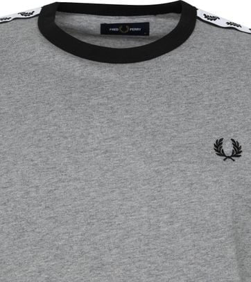 Fred Perry T-Shirt Grau M6347