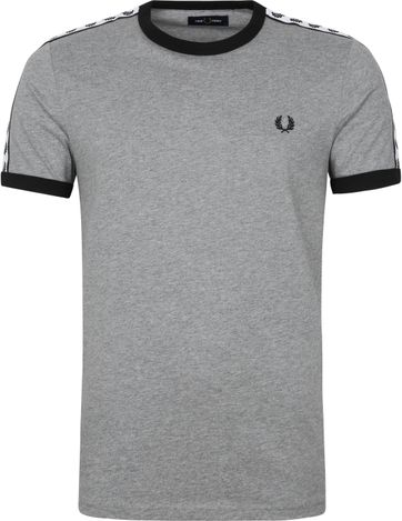 Fred Perry T-Shirt Grey M6347