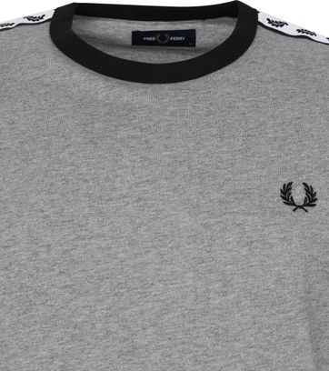 Fred Perry T-Shirt Grijs M6347