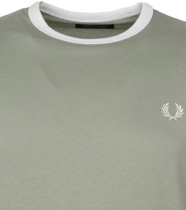 Fred Perry T-Shirt Groen M3519