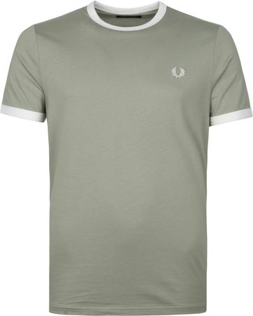 Fred Perry T-Shirt Grun M3519