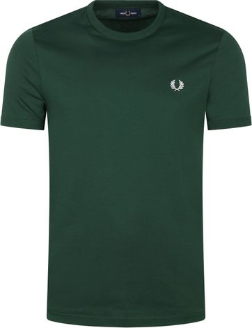 Fred Perry T-Shirt Ivy Groen M3519