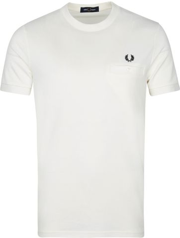 Fred Perry T-Shirt Weiß M8531