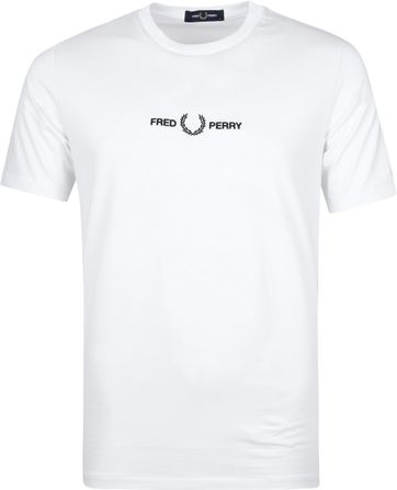Fred Perry T-Shirt Weiß M8621
