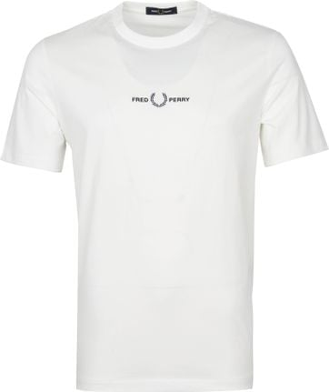 Fred Perry T Shirt White M1609