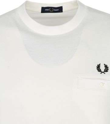 Fred Perry T-Shirt White M8531