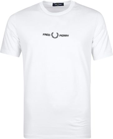 Fred Perry T-Shirt Wit M8621