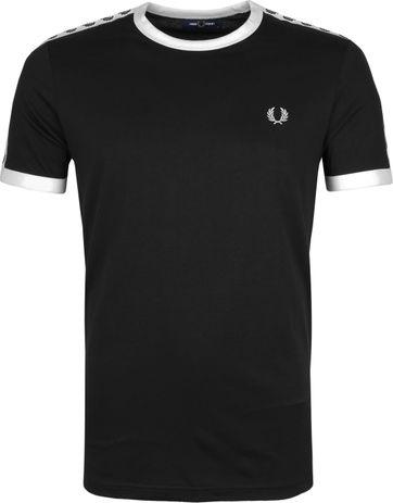 Fred Perry T-Shirt Zwart M6347