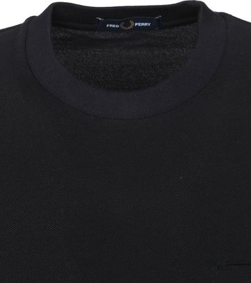 Fred Perry T-Shirt Zwart M8531