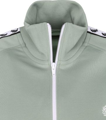 Fred Perry Taped Track Jacket Groen
