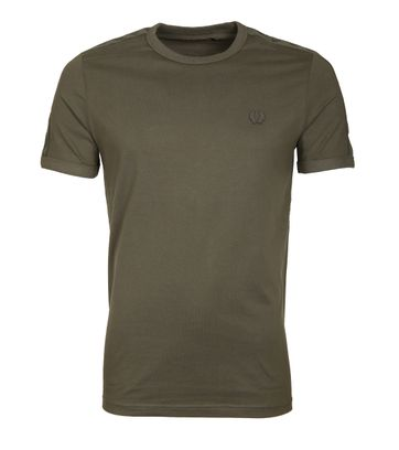 Fred Perry Tonal Shirt Groen