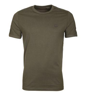Fred Perry Tonal Shirt Grün