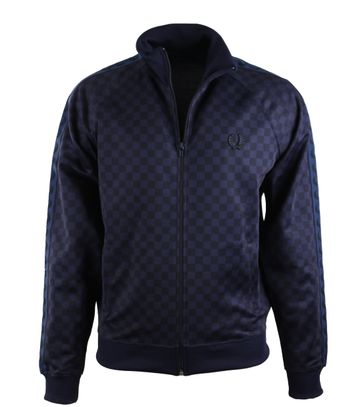 Fred Perry Track Jacket Chequerboard