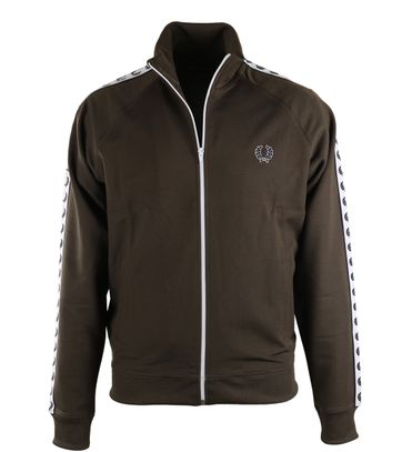 Fred Perry Track Jacket Grün