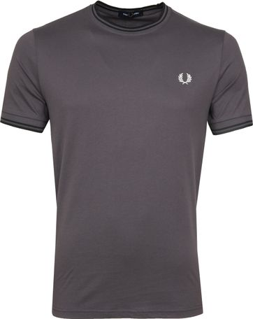 Fred Perry Twin Tipped T-shirt Grey