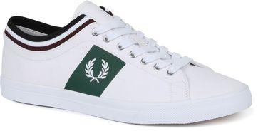 Fred Perry Underspin Sneaker Weiß