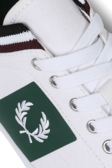 Fred Perry Underspin Sneaker Wit