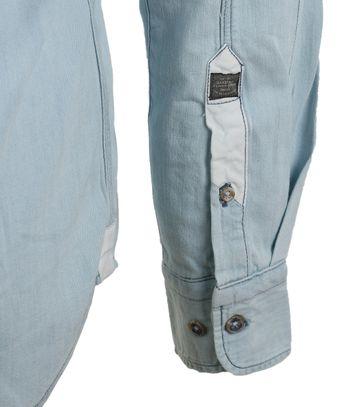 Detail Gaastra Casual Shirt Lichtblauw