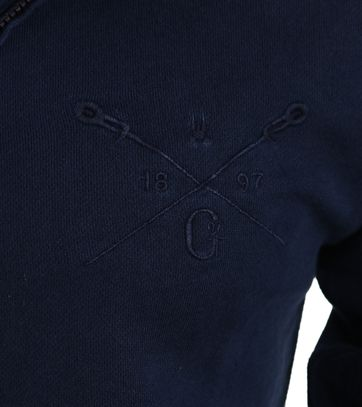 Detail Gaastra Edinburgh Vest Navy