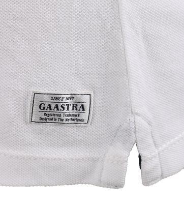 Detail Gaastra Jonah Poloshirt Wit