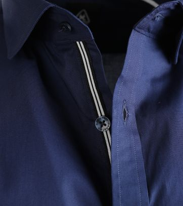 Detail Gaastra Overhemd Thor Principles Donkerblauw