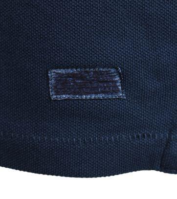 Detail Gaastra Peak Poloshirt Donkerblauw