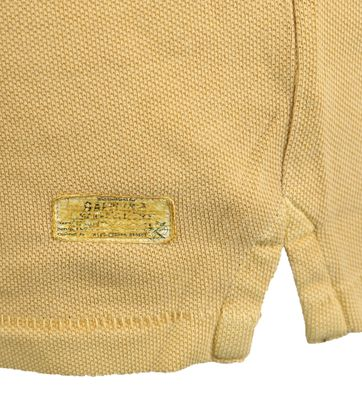 Detail Gaastra Peak Poloshirt Geel