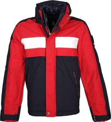 Gaastra Ramfleet Jacket Navy Red