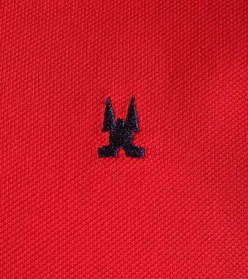 Detail Gaastra Royal Sea Polo Rood