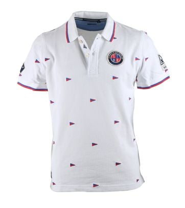 Gaastra St Barth Polo Crew Wit