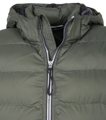 Gant Active Cloud Jas Groen