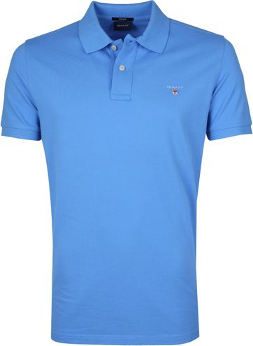 Gant Basic Polo Blue