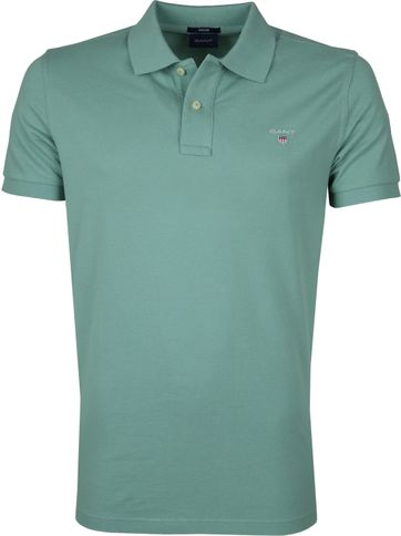Gant Basic Polo Groen