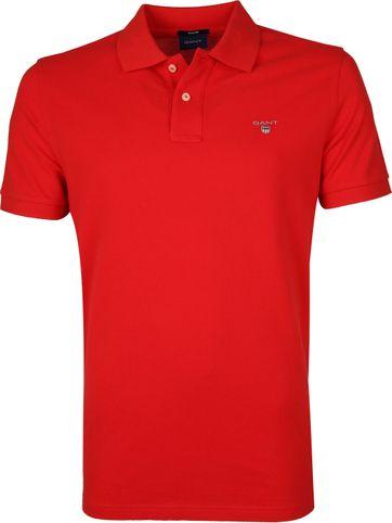 Gant Basic Polo Rot