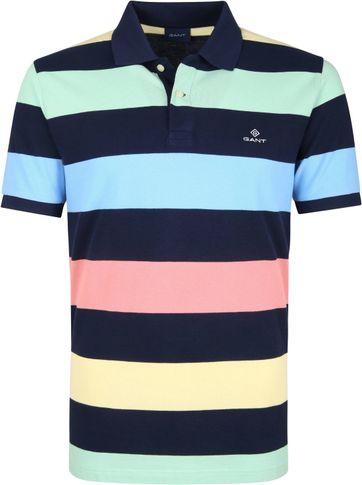 Gant Basic Polo Streifen