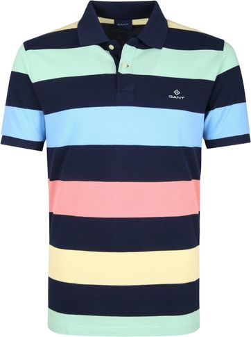Gant Basic Polo Stripes