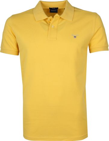 Gant Basic Polo Yellow