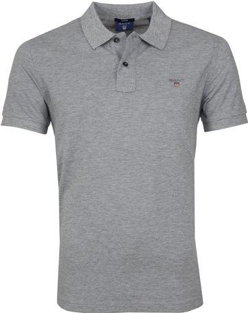 Gant Basic Poloshirt Grey