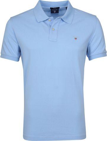 Gant Basic Poloshirt Hellblau