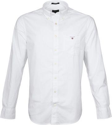 Gant Casual Hemd Broadcloth Weiß