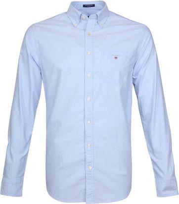 Gant Casual Hemd Oxford Hellblau