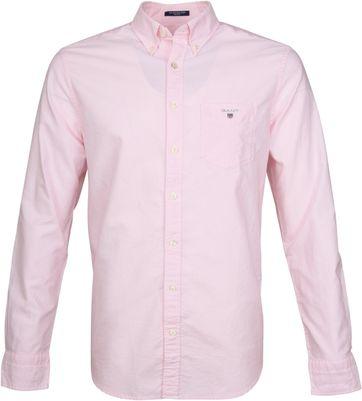 Gant Casual Hemd Oxford Roze