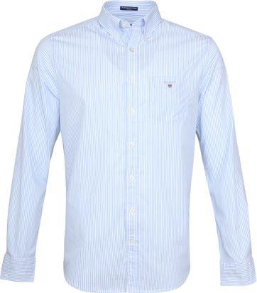 Gant Casual Hemd Streifen Hellblau