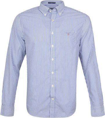 Gant Casual Hemd Strepen Blauw