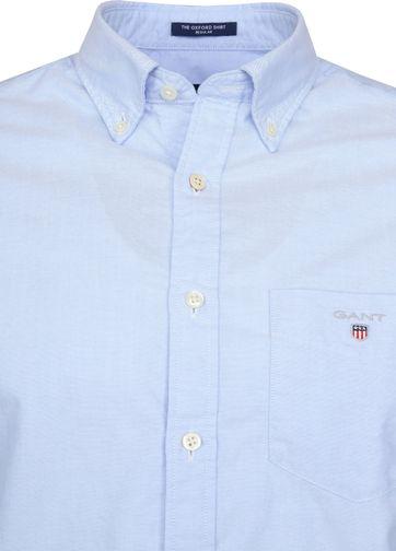 Gant Casual Overhemd Oxford Lichtblauw