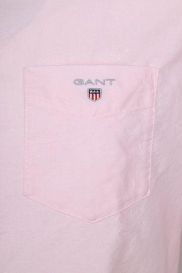 Gant Casual Overhemd Oxford Roze