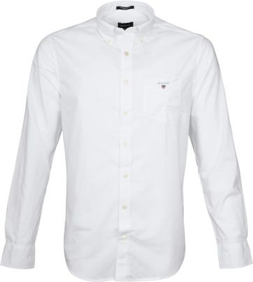 Gant Casual Shirt Broadcloth White