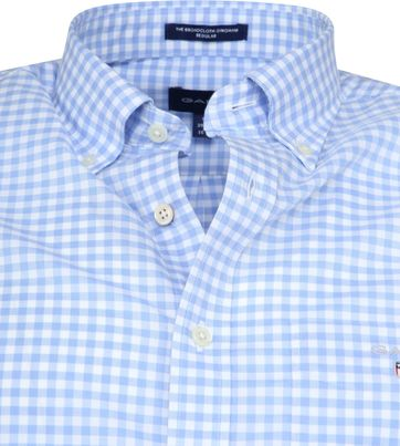 Gant Gingham Blue Check