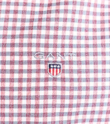 Detail Gant Gingham Rood